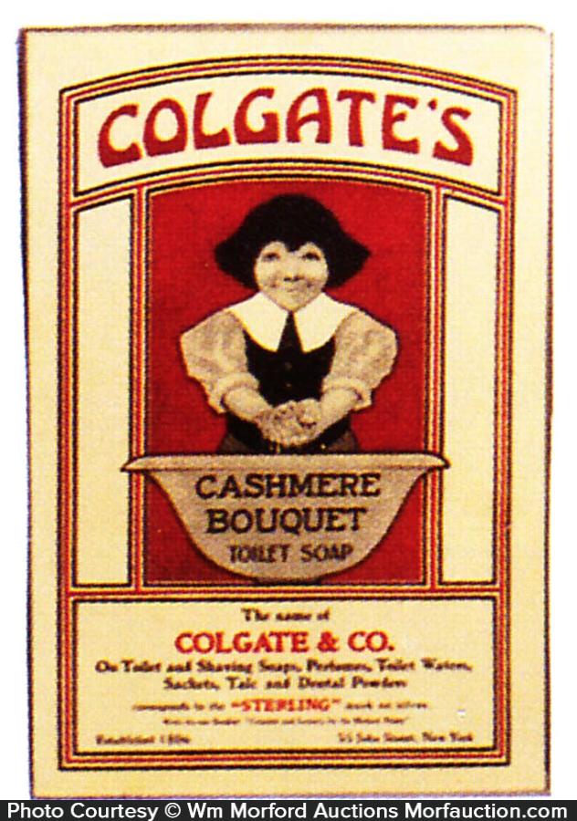 Colgate Cashmere Bouquet Ad