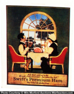Swift's Premium Ham Sign