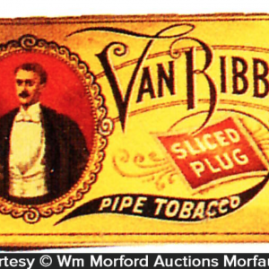 Van Ribber Pipe Tobacco Tin
