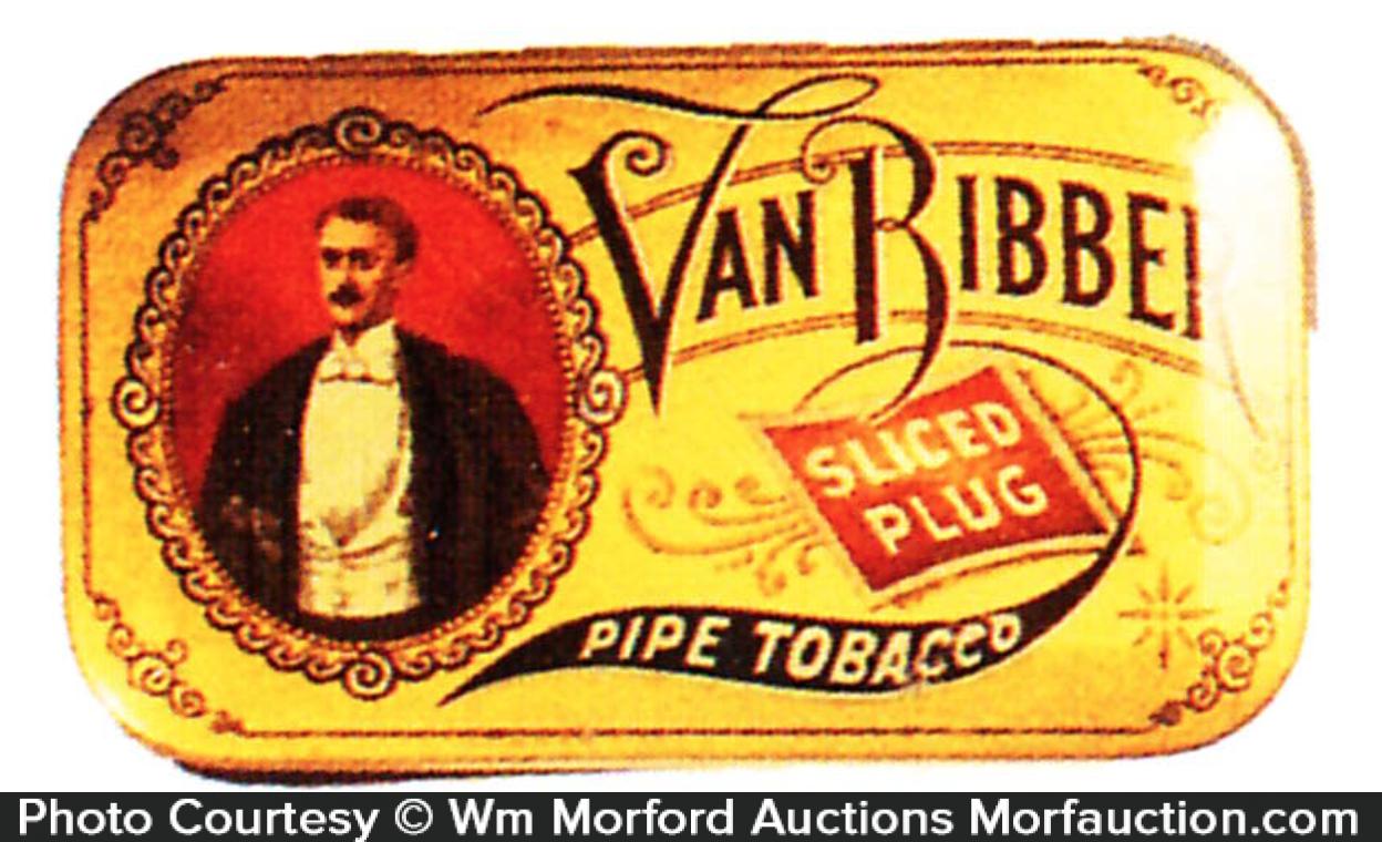 Van Ribber Pipe Tobacco Tin