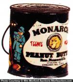 Monarch Teenie Weenie Peanut Butter Pail