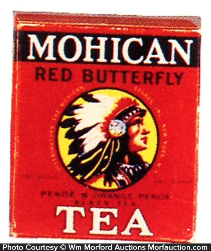 Mohican Tea Tin