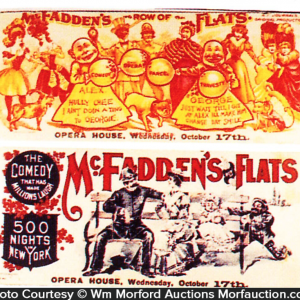 Mcfadden's Flats Yellow Kid Blotter