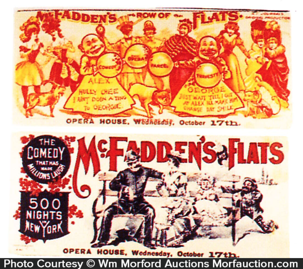 Mcfadden's Flats Yellow Kid Blotter