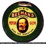 Beeman's Gum Watch Fob