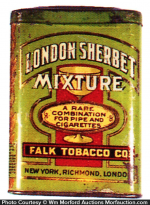 London Sherbet Tobacco Tin