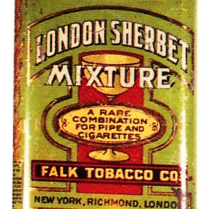 London Sherbet Tobacco Tin