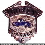 Corey Garage Badge