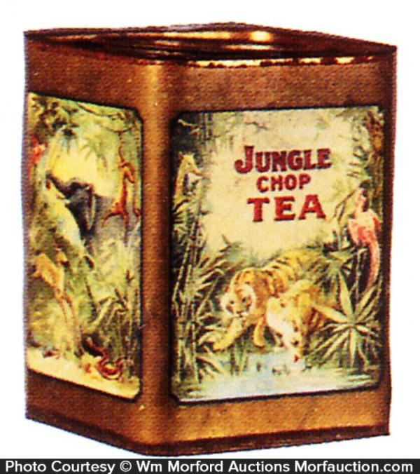 Jungle Chop Tea Tin