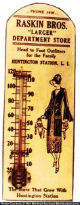 Baskin Bros. Thermometer