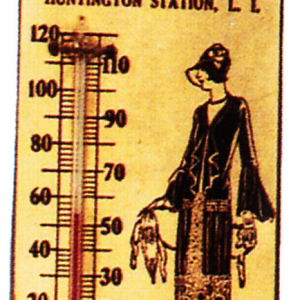 Baskin Bros. Thermometer