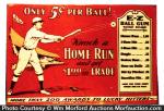 Home Run Gum Sign