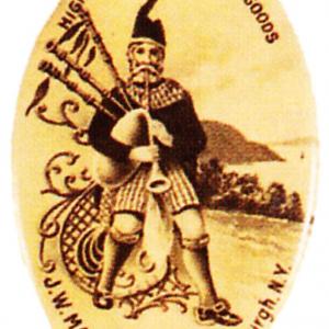 Highland Canned Goods Pocket Mirror