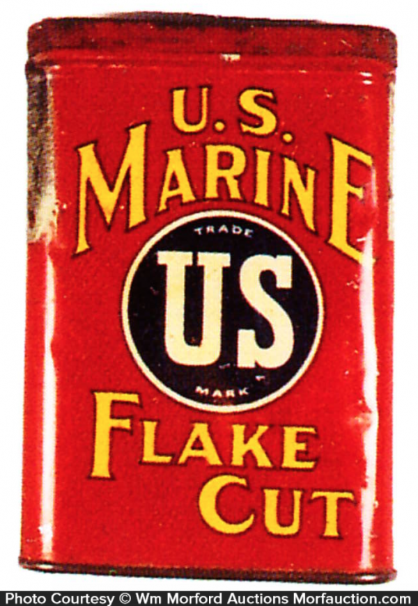 Us Marine Tobacco Tin