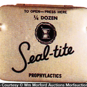 Seal-Tite Condom Tin