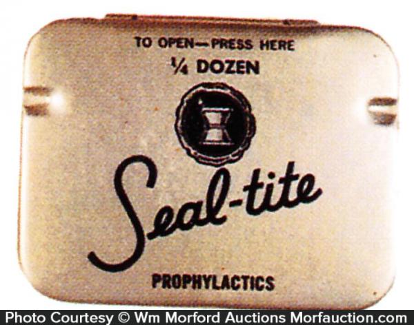 Seal-Tite Condom Tin