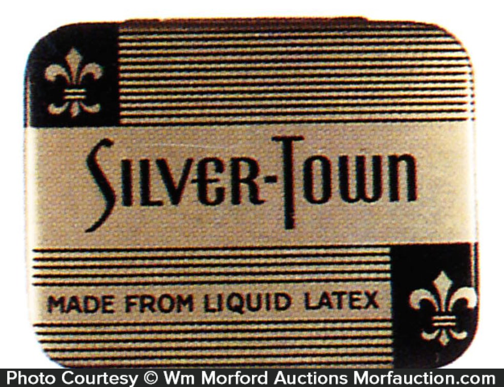 Silver-Town Condom Tin
