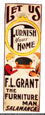 Grant Home Furnishing Sign