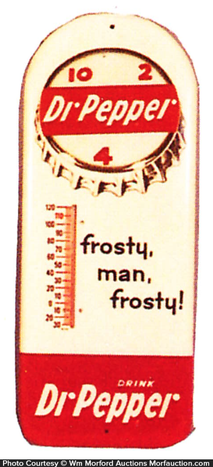 Dr. Pepper Frosty Thermometer