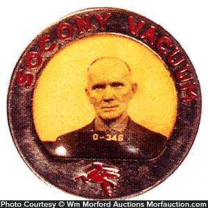 Socony Vacuum Oil Badge