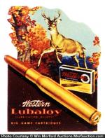 Western Big Game Cartridges Sign