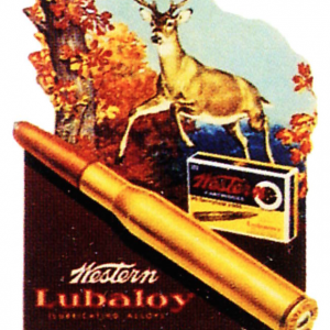 Western Big Game Cartridges Sign