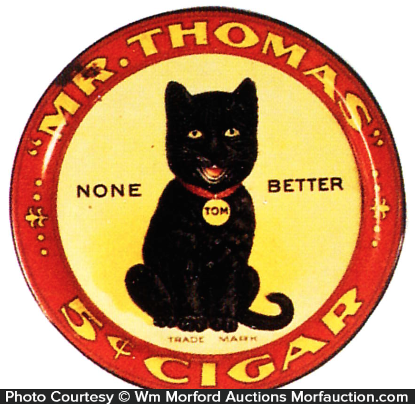 Mr. Thomas Cigars Tip Tray