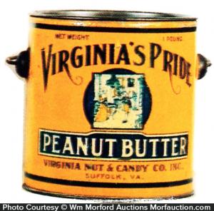 Virginia's Pride Peanut Butter Pail