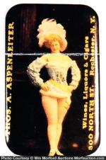 Saloon Girl Mirror