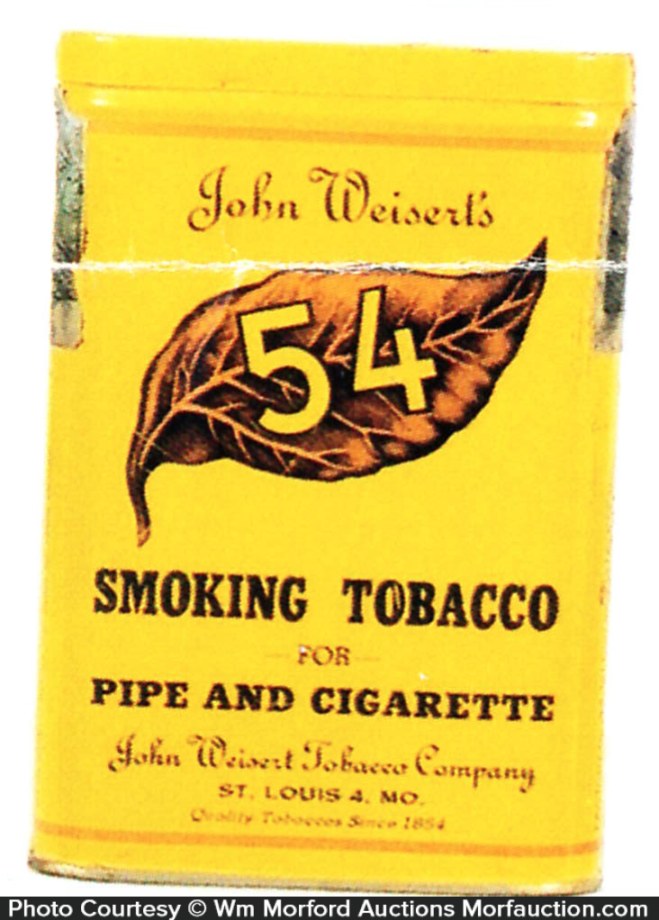 John Weisert's 54 Tobacco Tin