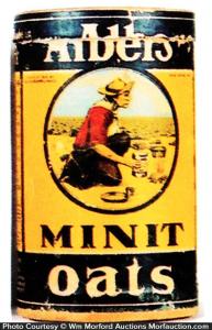 Alber's Minit Oats Box