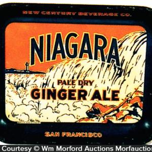 Niagara Ginger Ale Tray