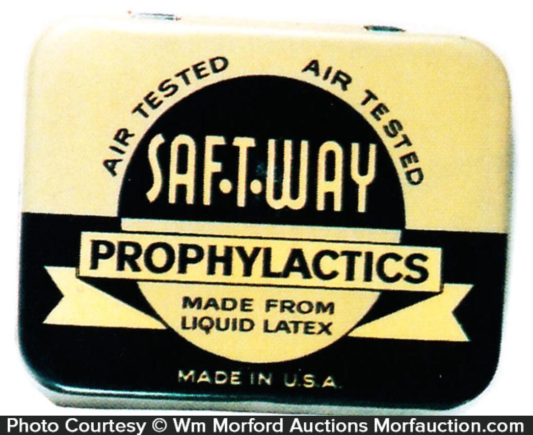 Safe-T-Way Condom Tin