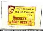 Buckeye Root Beer Sign