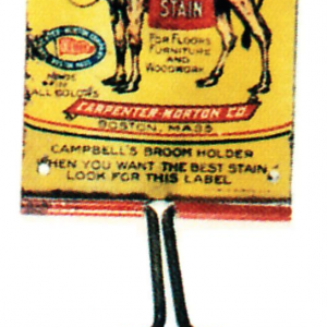 Campbell's Varnish Stain Broom Holder