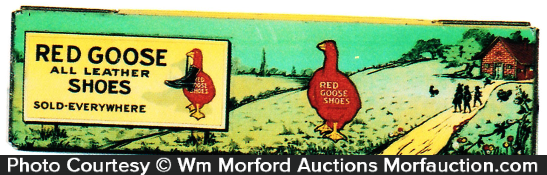 Red Goose Shoes Pencil Box