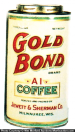 Gold Bond Coffee Can
