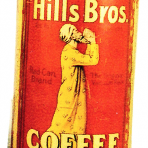 Hills Bros. Coffee Tin