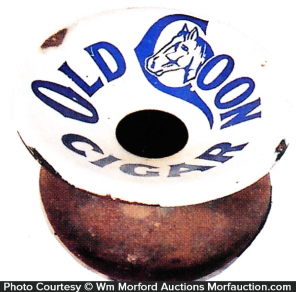 Old Coon Cigars Spittoon