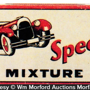Speed Mixture Tobacco Tin