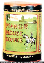 Manor House Coffee Can