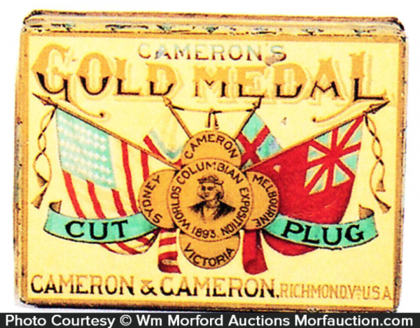 Gold Medal Tobacco Tin