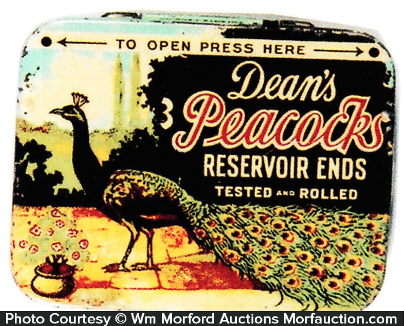Dean's Peacock Reservoir Ends Tin