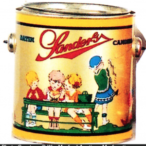 Sanders Candy Pail