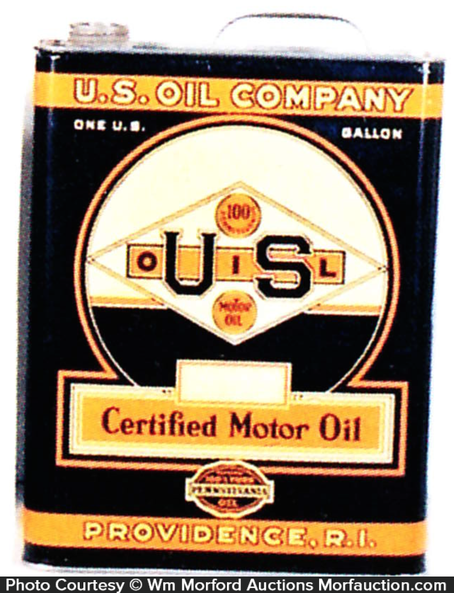 Us Motor Oil Can