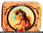 California Perfume Soap Tin