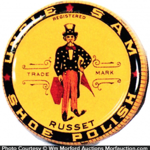 Uncle Sam Shoe Polish Tin