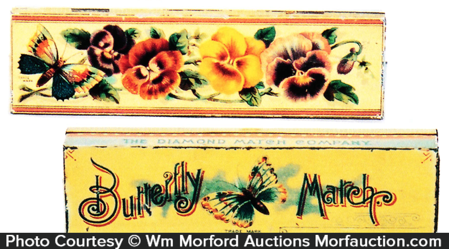 Butterfly March Match Tin