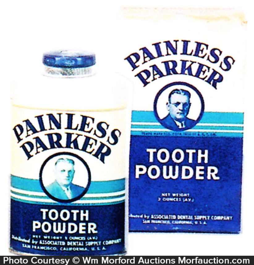 Painless Parker Tooth Powder