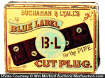 Blue Label Tobacco Tin